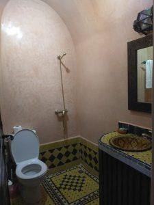 Merzouga shower