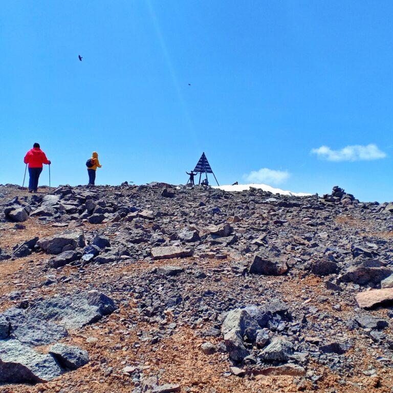 Toubkal peak 4167m